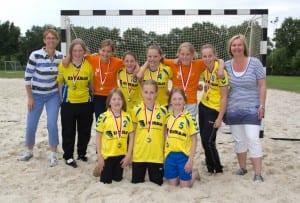 Borhave C1 beachhandbalkampioen 2012