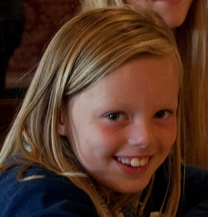 Zondag 14 januari 2014: welp van de week Isabel