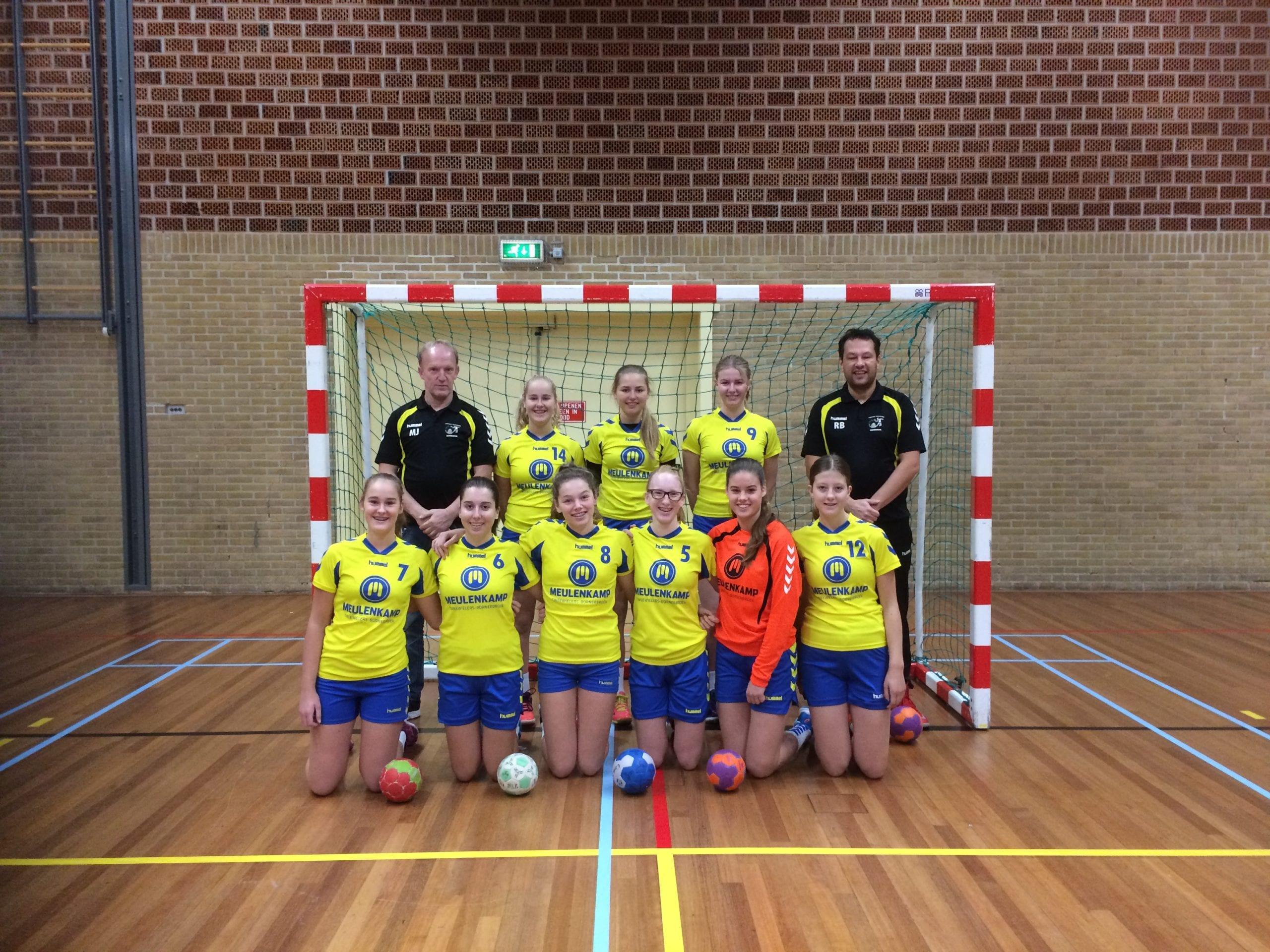 Borhave dames C1 2017/2018